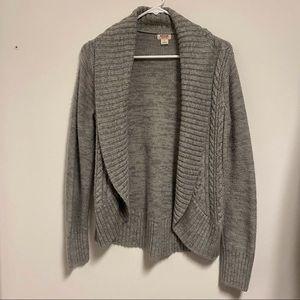 Mossimo Grey Sweater Cardigan